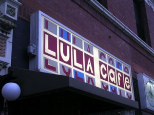 Lula Cafe Sign